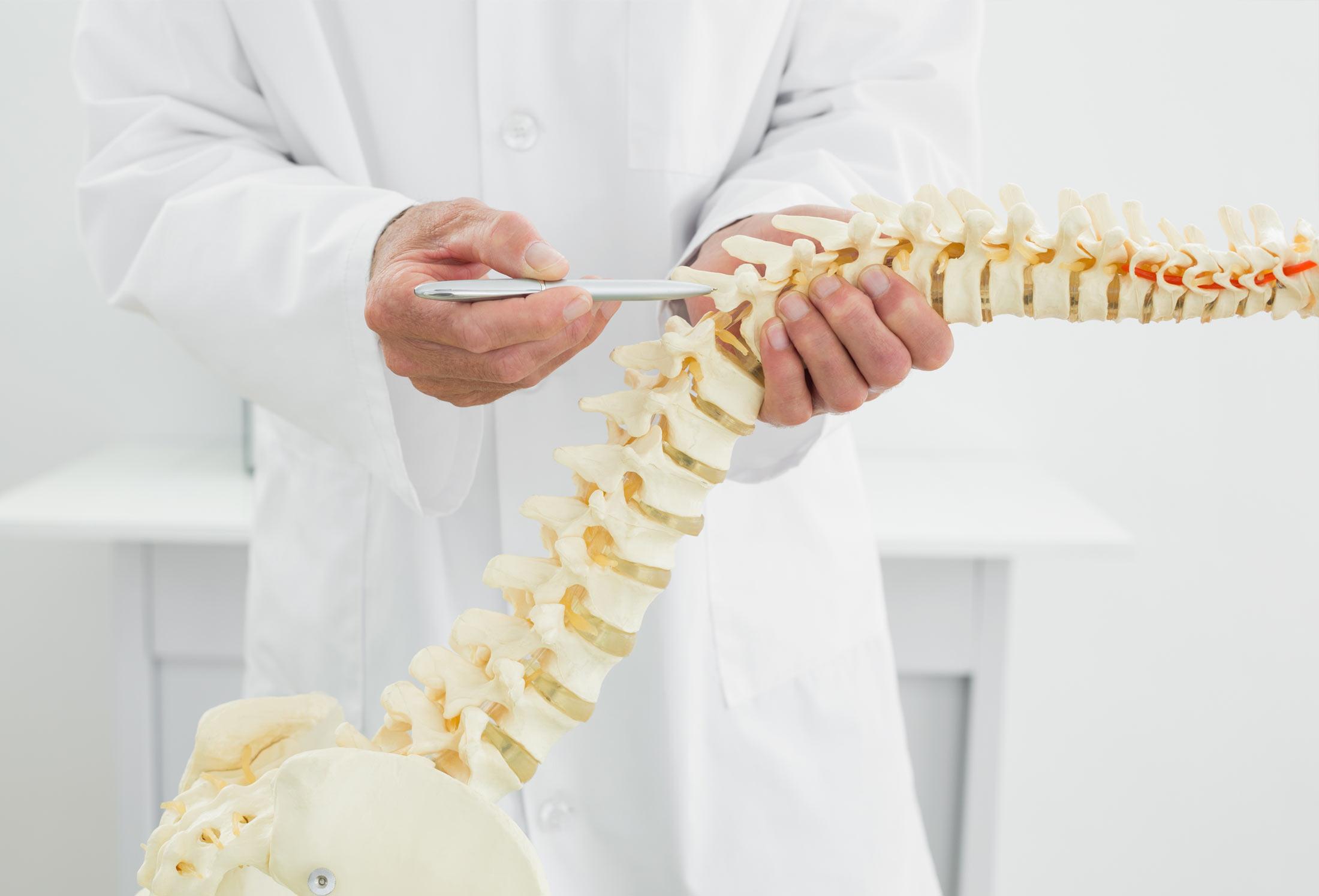 man-spine